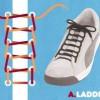 スニーカー 靴紐の通し方(再)